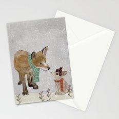 hello mr fox Stationery Cards