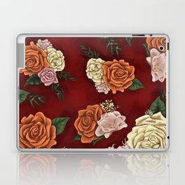 Red luxury flowers Laptop & iPad Skin