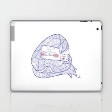 haircatlady and cat Laptop & iPad Skin