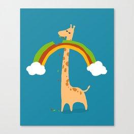 Taste of Happiness Rainbow Canvas Print