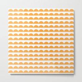 BREE ((funky orange)) Metal Print