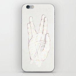 Live Long iPhone Skin