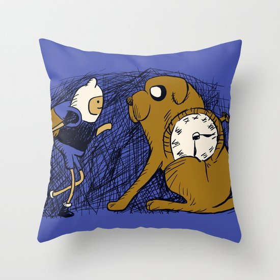 Tollbooth Adventures Throw Pillow