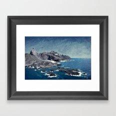 North Coast Sea Framed Art Print