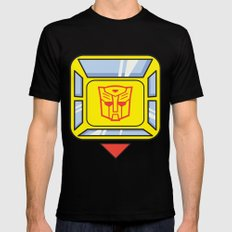 Transformers - Bumblebee Mens Fitted Tee MEDIUM Black