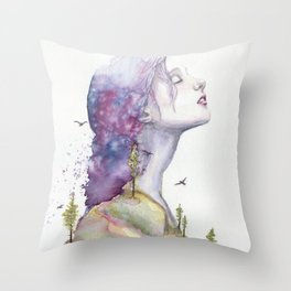 Arise by Ruth Oosterman Throw Pillow
