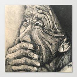Happy Tears Canvas Print