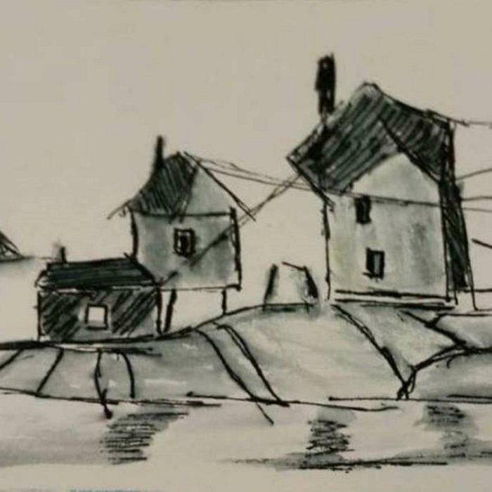Houses by the sea Comforters