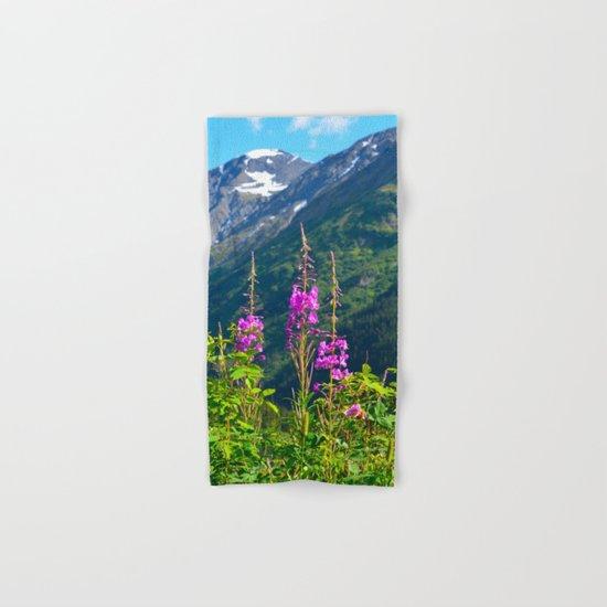 Fireweed ~ Mid-Summer Hand & Bath Towel