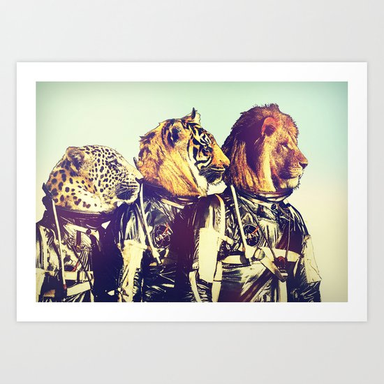 The Mission Comes First Art Print