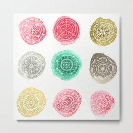 Crafty Stains Metal Print