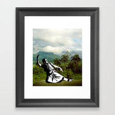 When in paradise Framed Art Print