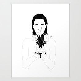 Take a deep breath Art Print