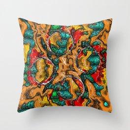 Plastic Wax Factory Vol 02 47 - OATHS OF DAGON Throw Pillow