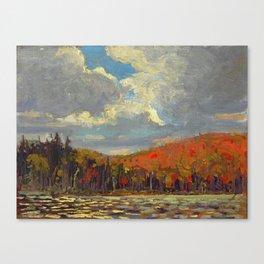 Tom Thomson Hillside, Smoke Lake 1914 Canadian Landscape Artist Canvas Print