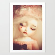 Invisible Tears Art Print