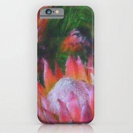 Big Protea Botanical Flowers The Three Kings iPhone Case
