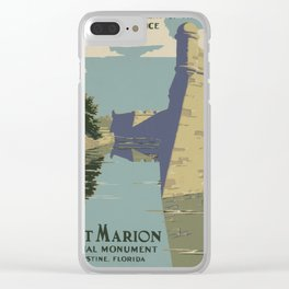 Fort Marion Clear iPhone Case