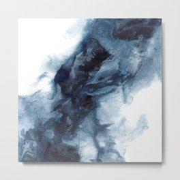 Indigo Depths No. 1 Metal Print