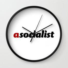 asocialist Wall Clock