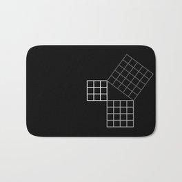 Pythagoras Theorem Bath Mat