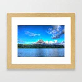 Arenal Volcano Framed Art Print
