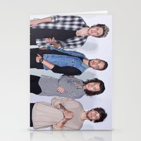 1d Stationery Cards featuring New 1D by kikabarros