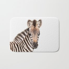 Baby Zebra Bath Mat
