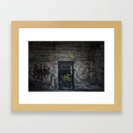 Knock Knock Framed Art Print