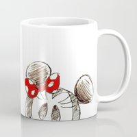 minnie mouse Mugs featuring Mickey and Minnie Mouse.  by Christa Morgan ☽