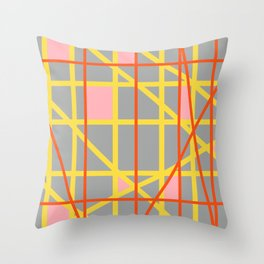 Abstract RQ Throw Pillow