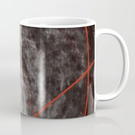 I should have read between the lines- abstract expressive art Coffee Mug