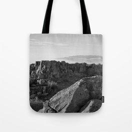 Across The Way Tote Bag