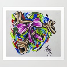 Coloured By Confusion Art Print