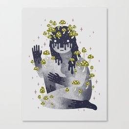 Celestial Decay Canvas Print