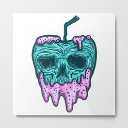poison apple...skull voodoo Metal Print