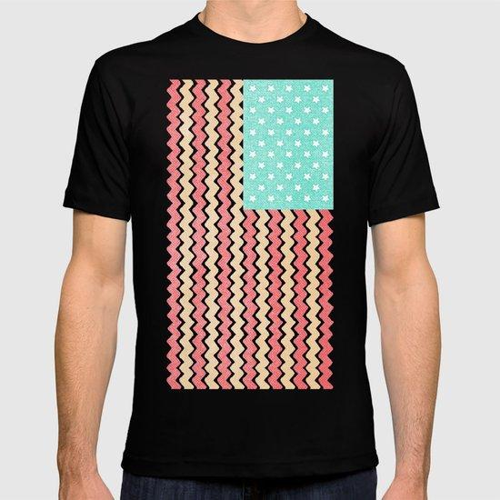 Zig Zag Flag. T-shirt