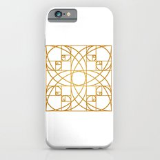 Golden Flower Slim Case iPhone 6s