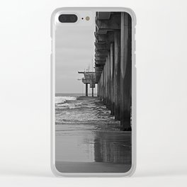 Scripps Pier Clear iPhone Case