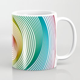 Shifting Circles Coffee Mug