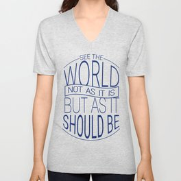 See The World Unisex V-Neck