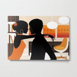 Living Room Metal Print