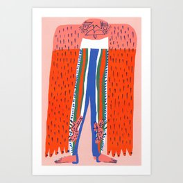 Stirrup Leggings Art Print