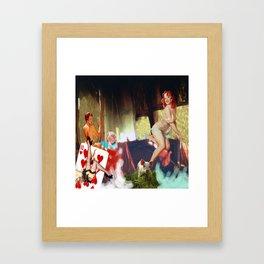 Mar de escotes Framed Art Print