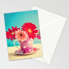 A cup of flowers for you Stationery Cards