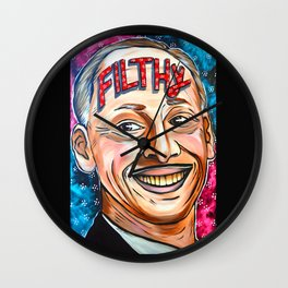 John Waters, Filthy  Wall Clock