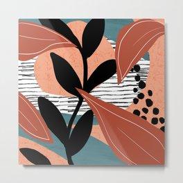 Botanical abstract Metal Print