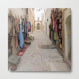 Moroccan Street Market Metal Print