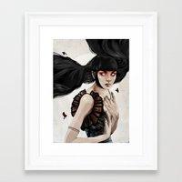 knight Framed Art Prints featuring Knight by Feline Zegers