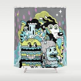 Magic Friends Shower Curtain